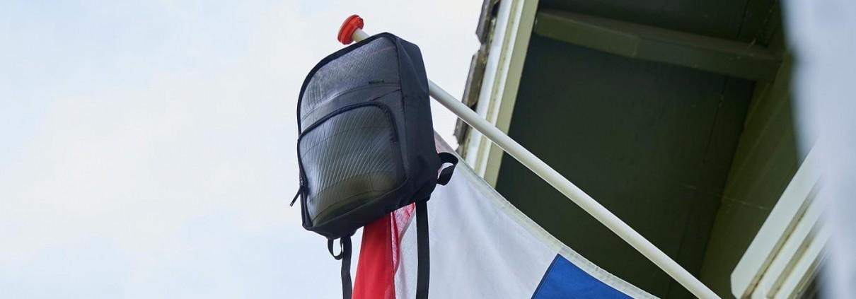 duurzame tas tijdens examen, rozer pack