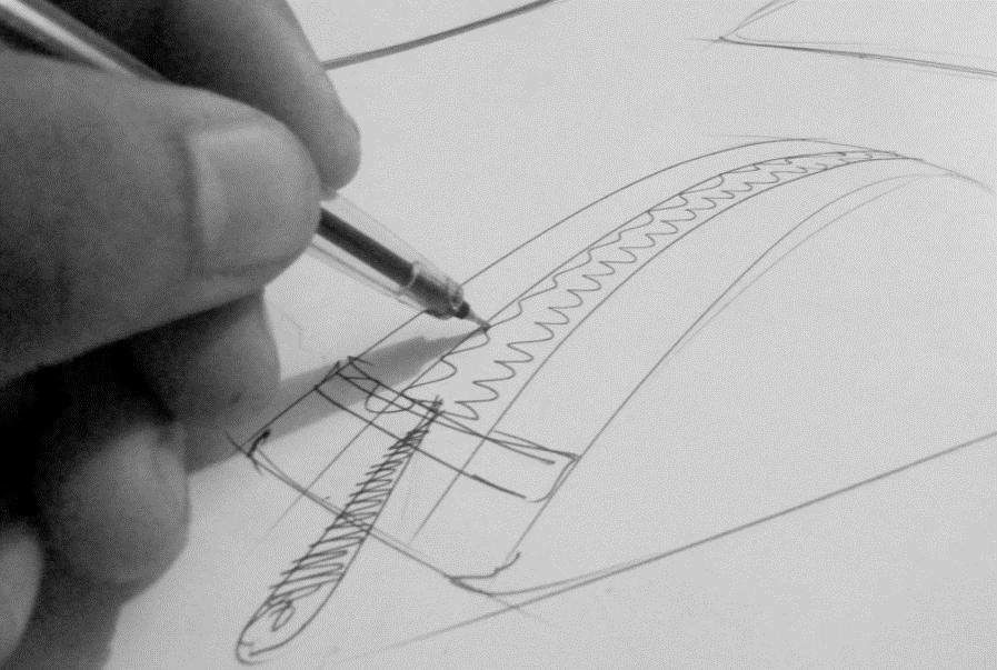 Flyerfoto tekening